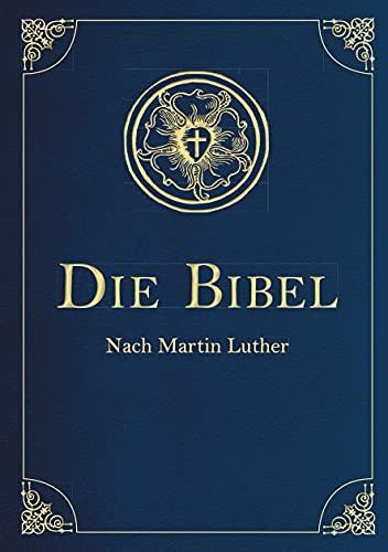 9783730602737: Die Bibel - Altes und Neues Testament (Cabra-Leder-Ausgabe) Übersetzung von Martin Luther, Textfassung 1912.