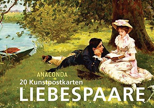 9783730603031: 20 Kunstpostkarten Liebespaare