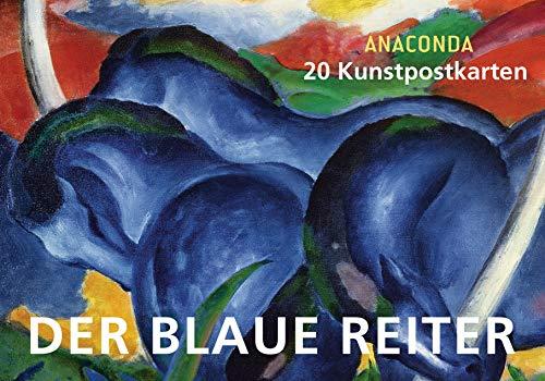 9783730603642: Postkartenbuch Der blaue Reiter