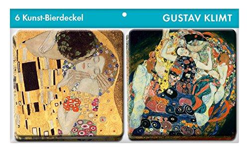 9783730603765: Kunst Untersetzer Gustav Klimt