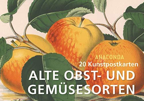 Postkartenbuch Alte Obst- und Gemüsesorten (Paperback)