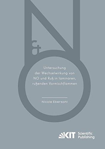 9783731503309: Untersuchung der Wechselwirkung von NO und Ruß in laminaren, rußenden Vormischflammen