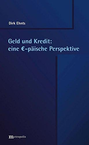 9783731611059: Geld und Kredit: eine EUR-päische Perspektive