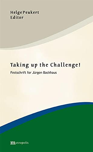 Taking up the Challenge!: Helge Peukert