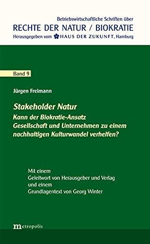 9783731611783: Stakeholder Natur