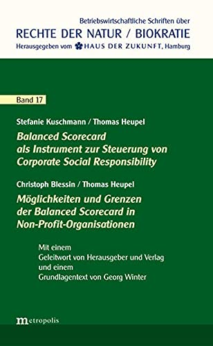 9783731611882: Balanced Scorecard als Instrument zur Steuerung von Corporate Social Responsibility / Möglichkeiten & Grenzen der Balanced Scorecard in Non-Profit-Organisationen