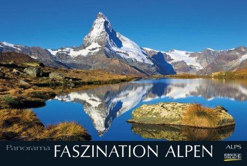 9783731800958: Faszination Alpen 2015 PhotoArt Panorama Kalender