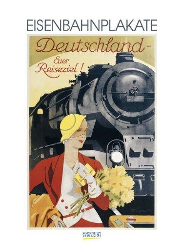 9783731802358: Eisenbahnplakate 2015 Kunst Gallery Kalender