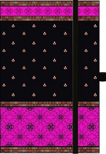 "Premium Notes Small Textile ""Indian Sari-Pink"""