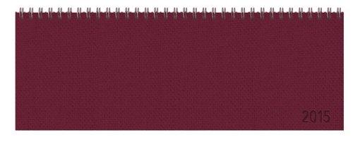 9783731803775: Tischquerkalender Professional Premium rot 2015