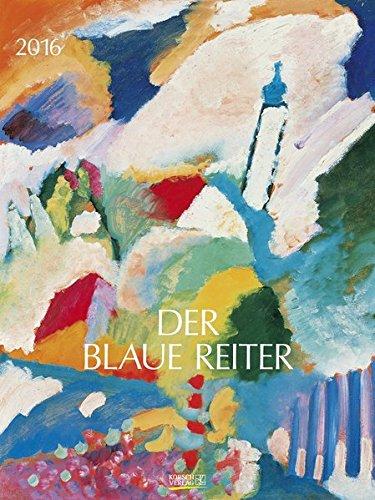 9783731807087: Der Blaue Reiter 2016: Kunst Gallery Kalender