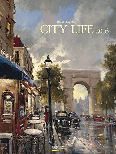 9783731807155: City Life 2016. Kunst Gallery Kalender