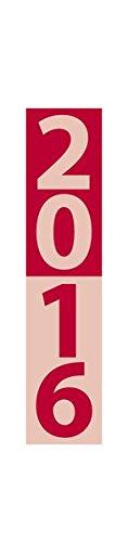 9783731808596: Streifenplaner Compact rot 2016