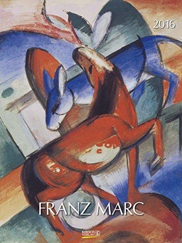 9783731810063: Franz Marc 2016 Kunst Gallery Kalender