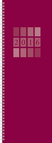 9783731810872: Tischkalender Vertikus Colourlux bordeaux 2016