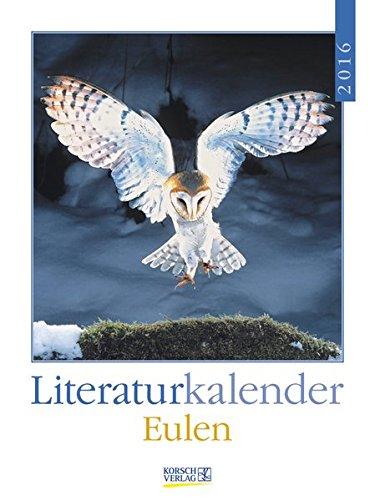 9783731811145: Eulen 2016 Literatur-Wochenkalender