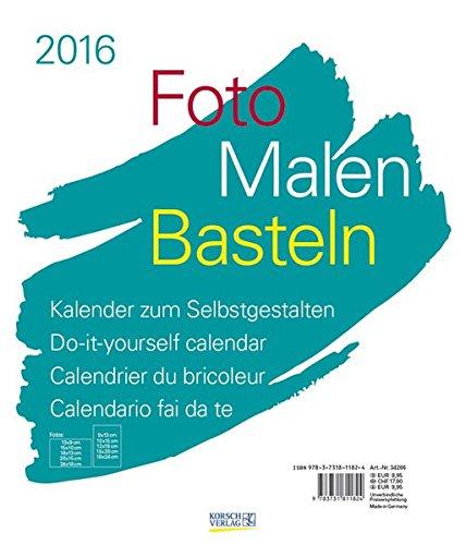 9783731811824 foto malen basteln wei 2016 kalender zum imagen de archivo solutioingenieria Choice Image