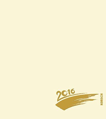 9783731811985: Foto-Malen-Basteln chamois mit Folienprägung 2016 (24 x 21,5 cm): Kalender zum Selbstgestalten