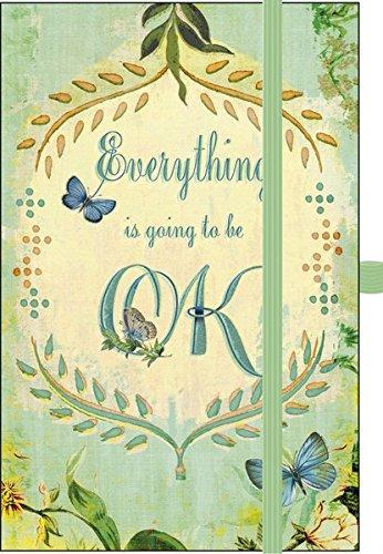 9783731812302: Premium Notes Small Everything is going to be OK: Notizbuch mit hochwertiger Folienveredelung und Prägung, liniert