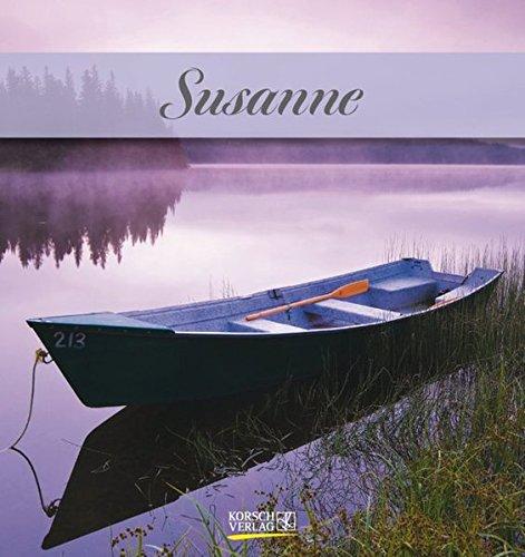 9783731819059: Namenskalender Susanne: Immerwährender Kalender