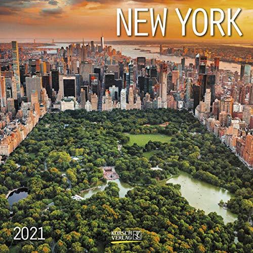 9783731847274: New York 2021: Broschürenkalender mit Ferienterminen