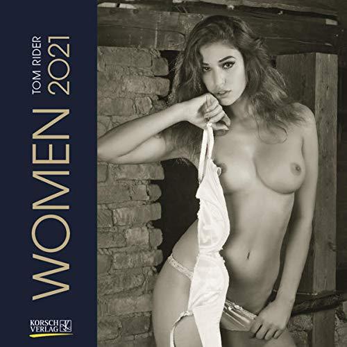 9783731848615: Women 2021: Broschürenkalender mit Ferienterminen. Erotik-Kalender in schwarz weiß