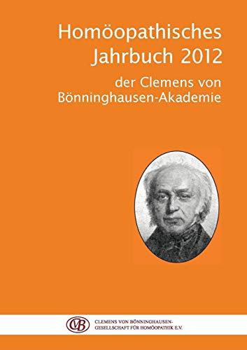 Homoopathisches Jahrbuch 2012