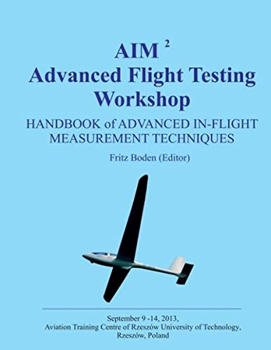 AIM Advanced Flight Testing Workshop: Fritz Boden