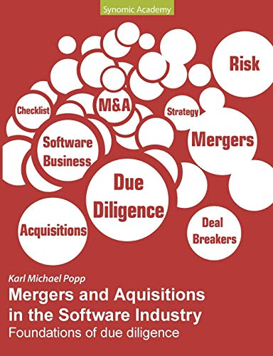 9783732243815: Mergers and Acquisitions in the Software Industry: Foundations of due diligence