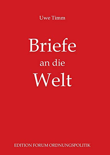 9783732297559: Briefe an die Welt (German Edition)