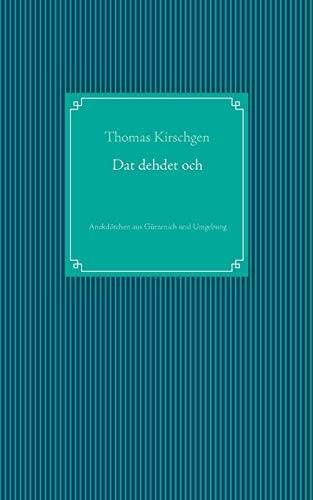 9783732299898: DAT Dehdet Och (German Edition)