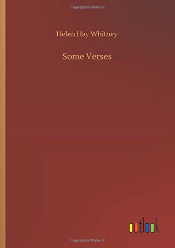 9783732655229: Some Verses