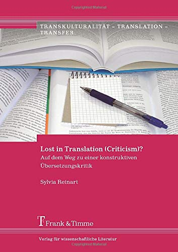 Lost in Translation (Criticism)?: Sylvia Reinart