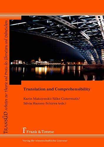 9783732900220: Translation and Comprehensibility