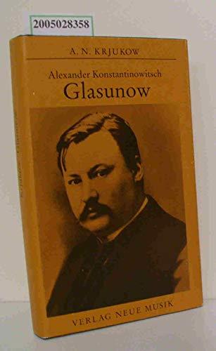 9783733300296: Alexander Konstantinowitsch Glasunow