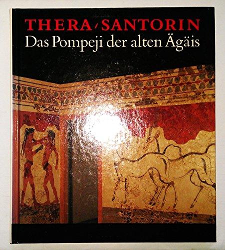 9783733800505: Thera /Santorin. Das Pompeji der alten Agäis