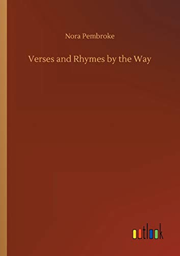 9783734045783: Verses and Rhymes by the Way