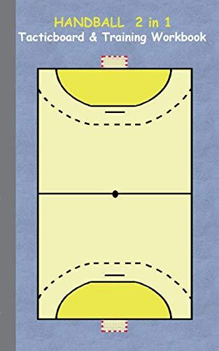 9783734749841: Handball 2 in 1 Tacticboard and Training Workbook