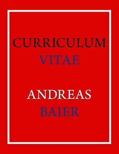 Curriculum Vitae - Andreas Baier: Andreas Baier