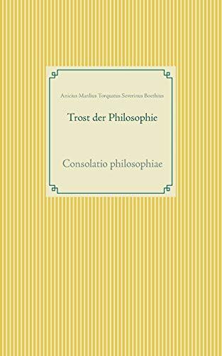 9783734770906: Trost der Philosophie