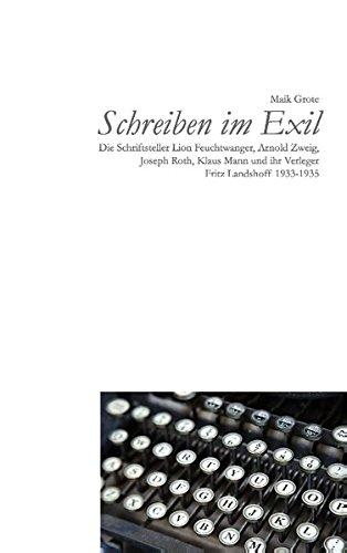 9783734775703: Schreiben im Exil
