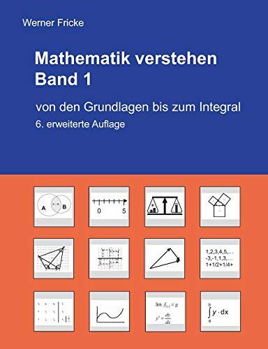 9783734776731: Mathematik verstehen: von den Grundlagen bis zum Intrgral
