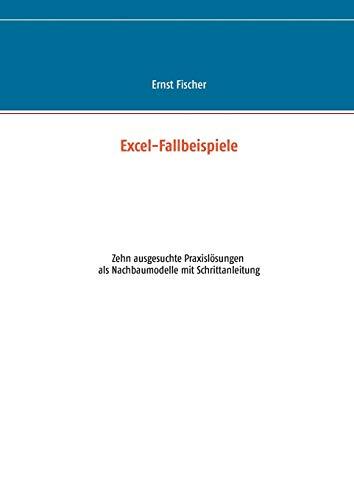 9783734779480: Excel-Fallbeispiele