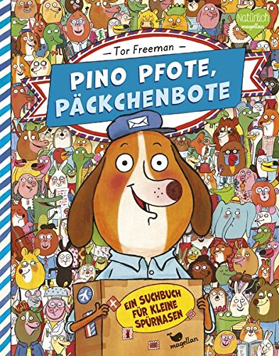 9783734820076: Pino Pfote, P�ckchenbote - Ein Suchbuch f�r kleine Sp�rnasen