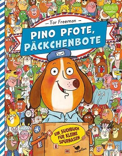 9783734820076: Pino Pfote, Päckchenbote 01. Ein Suchbuch für kleine Spürnasen