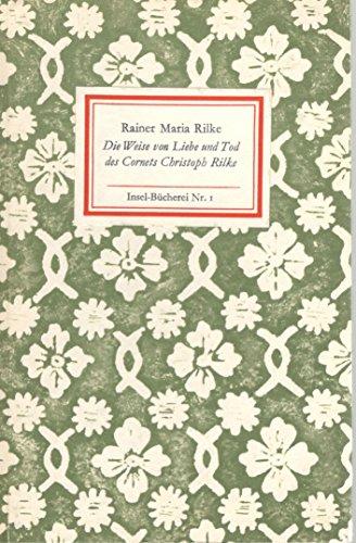 9783735100504: Die Weise von Liebe und Tod des Cornets Christoph Rilke