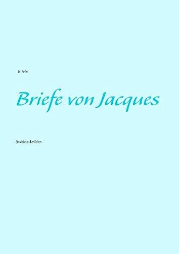 9783735790194: Briefe Von Jacques