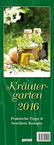 9783735911025: Streifen - Monatskalender 2016 Kräutergarten