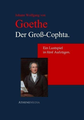 9783736400139: Der Gro�-Cophta.: Ein Lustspiel In F�nf Aufz�gen.