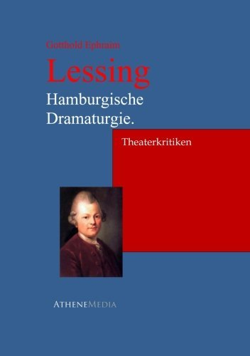 9783736400610: Hamburgische Dramaturgie.: Theaterkritiken (German Edition)